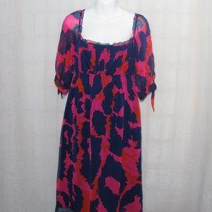Diane Von Furstenberg Genesis Dress Silk Size 10